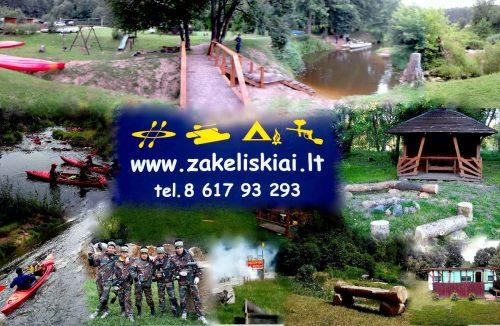 Plaukimai baidaremis ir katamaranais Dubysos ir Krazantes upemis