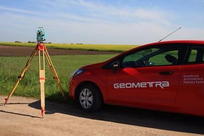 """Geodeziniai matavimai, kadastriniai matavimai, teritorijų planavimas visoje Lietuvoje (UAB """"GEOMETRA"""")"""