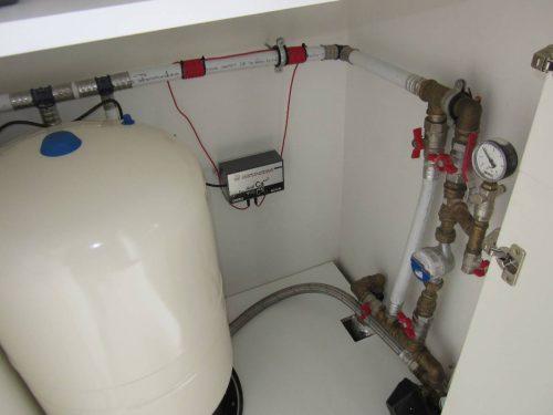 magnetiniai vandens antikalkiniai filtrai, santechniniai darbai