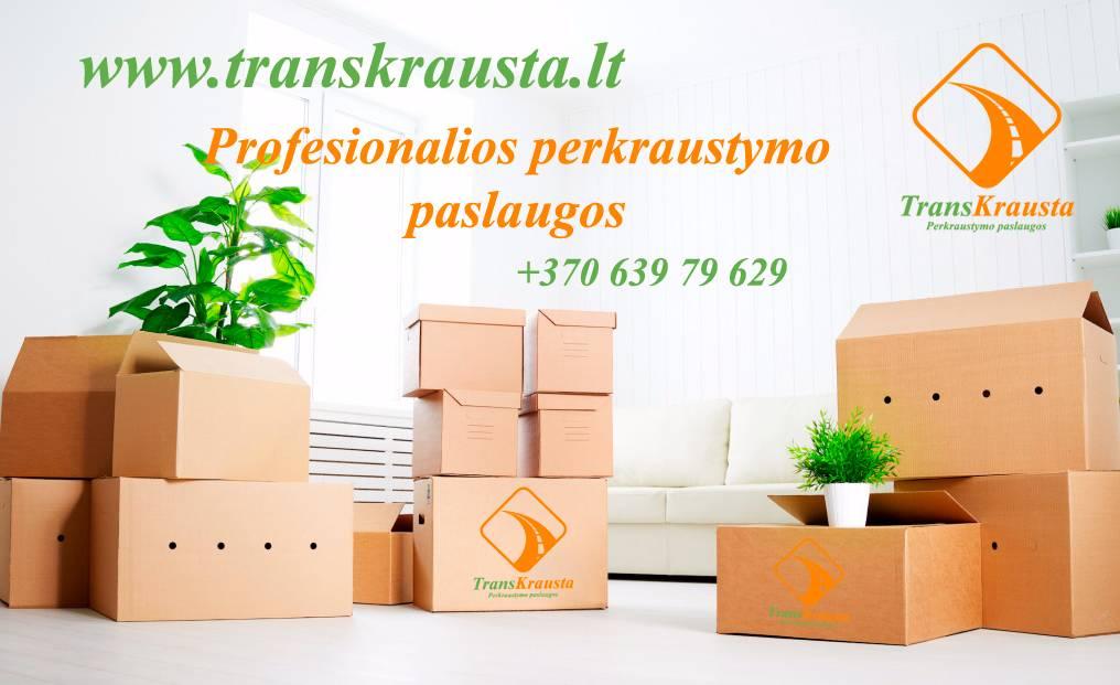 Perkraustymo paslaugos, krovinių pervežimai
