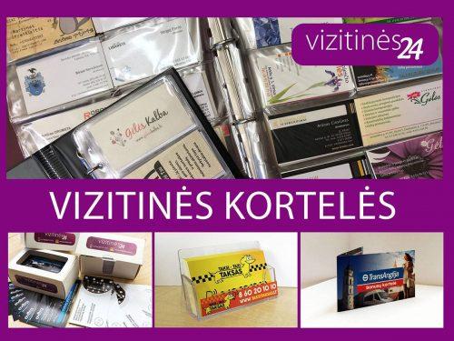 Vizitinės kortelės, interneto tinklapių kūrimas