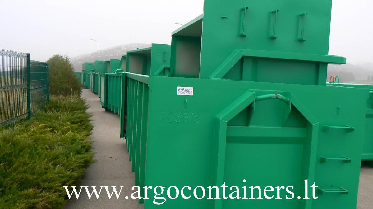 Užtraukiami konteineriai