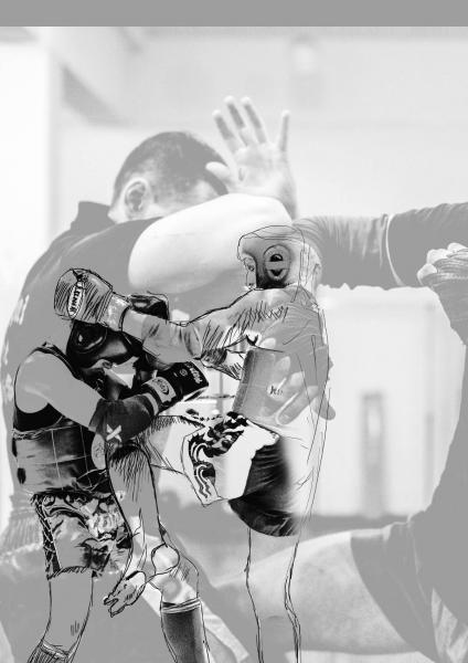 muay thai grupinės treniruotės