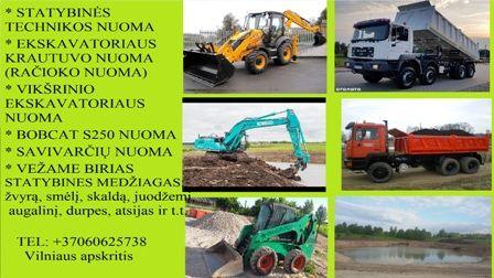 Parduodu ir vezu zvyra, smeli, skalda, sijota juodzemi, augalini, frezuota asfalta 860625738 Vilniaus apskritis