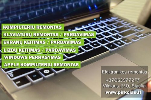 WWW.CIPAS.LT – KOMPIUTERIŲ IR GPS NAVIGACIJŲ CENTRAS jums siūlo profesionalų ir pigų visų kompiuterių remontą.
