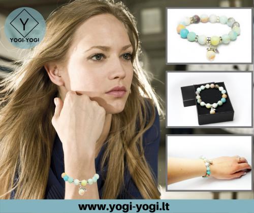 www.yogi-yogi.lt elektroninė papuošalų parduotuvė: apyrankės, auskarai, kaklo papuošalai