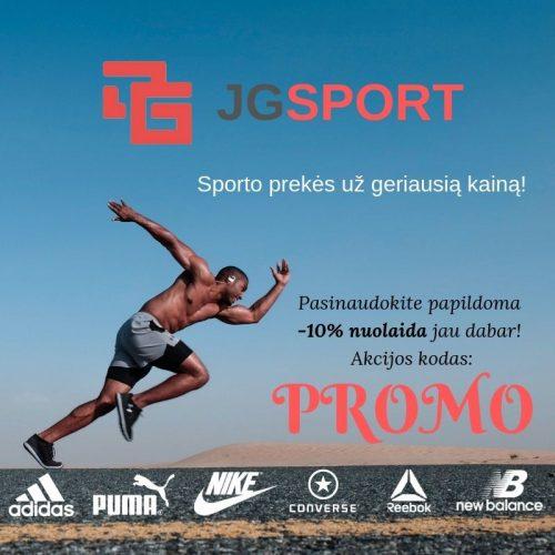 JGsport.lt – sporto prekės už geriausią kainą