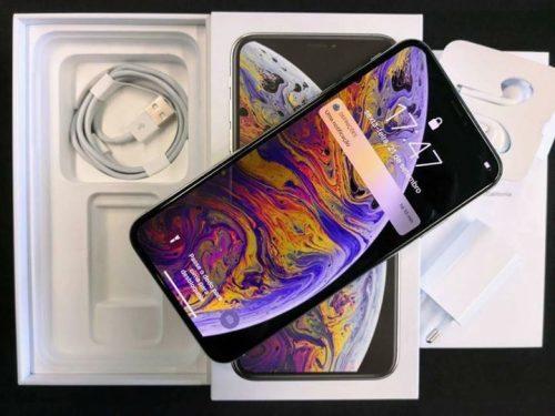 Naujas Apple iPhone XS Max – 64GB – pilkas pilkas (atrakinta)