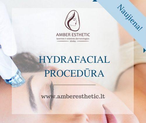 HydraFacial procedūra – veido valymas, šveitimas, drėkinimas