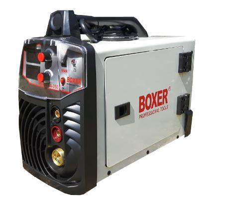Pusautomatis (kempas) ir inverteris (svarkė) 2in1 BOXER MIG 350