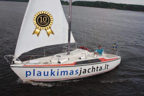 Jachtos nuoma Kauno mariose 8 684 21431