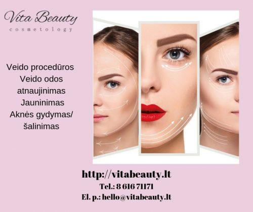 Veido procedūros, veido odos atnaujinimas, jauninimas, aknės gydymas/ šalinimas