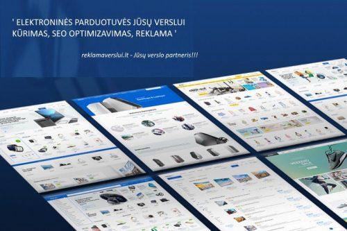 Elektroninių parduotuvių kūrimas