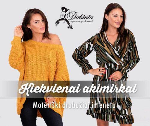 Moteriški drabužiai internetu – Dabinta.lt
