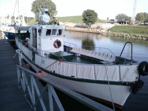 Laivas Vasara – laivo nuoma ir pramoginė žvejyba Baltijos jūroje