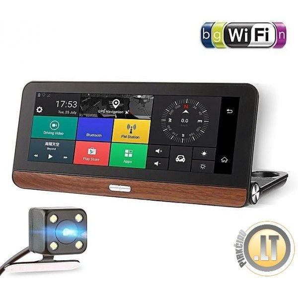 IHEX HYBRID 6 NAVIGACIJA   DVR registratorius, TV, Bluetooth, 4G internetas. Viskas viename