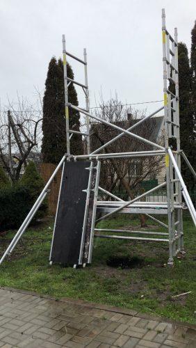 Aliuminis statybinis bokštelis,pastoliai