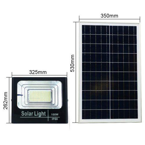 Geros kokybės saulės įkraunami šviestuvai100w 60W 25w