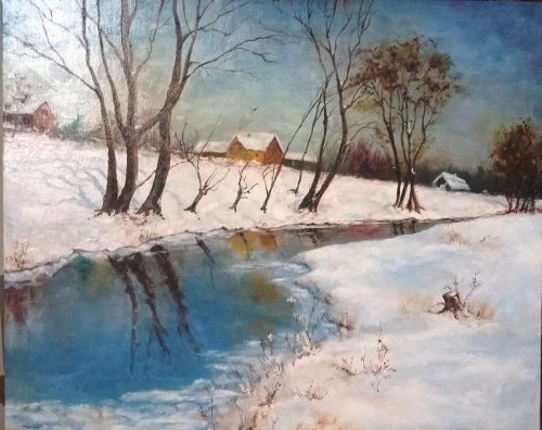 Parduodu tapytą paveikslą