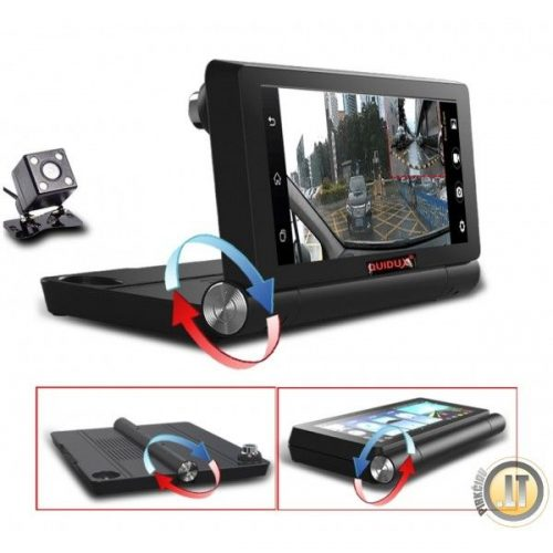 IHEX HYBRID 7 NAVIGACIJA   DVR registratorius, TV, Bluetooth, 4G internetas. Viskas viename