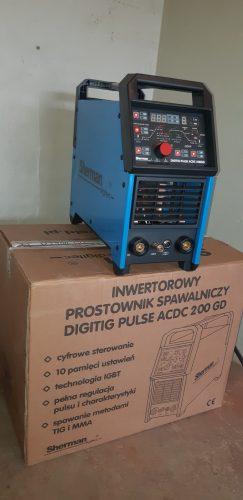 Suvirinimo aparatas aliuminiui sherman digitig pulse 200GD