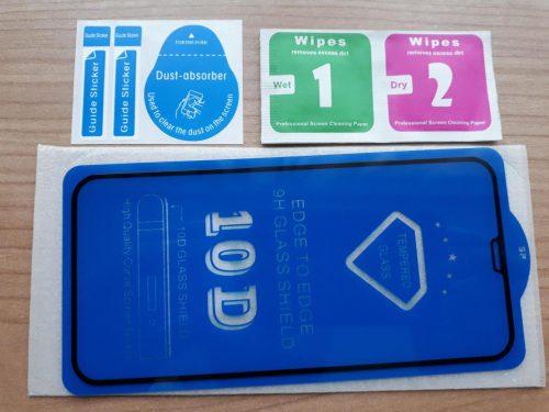 Apple IPhone X Juodas grūdintas apsauginis stiklas