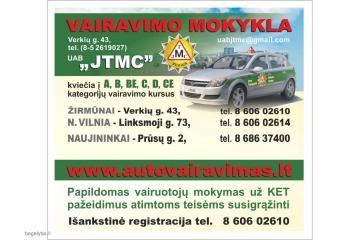 Pigūs vairavimo kursai Vilniuje