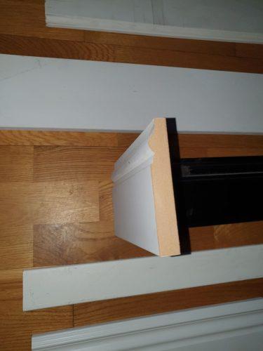 Gaminame grindinius ir durų apvadus iš MDF plokštės