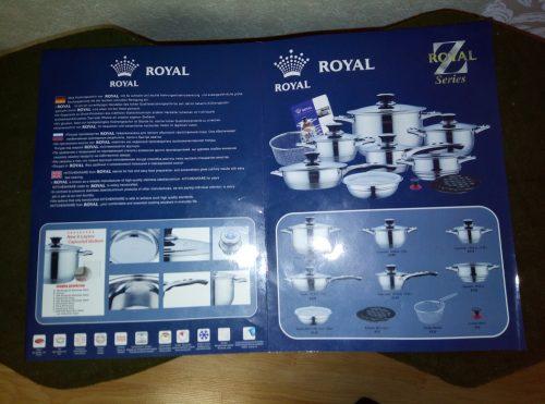 Vokiški Royal Z Series puodai