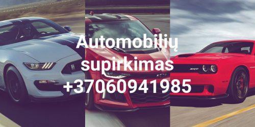 Automobilių supirkimas Klaipėdoje ir visoje Lietuvoje