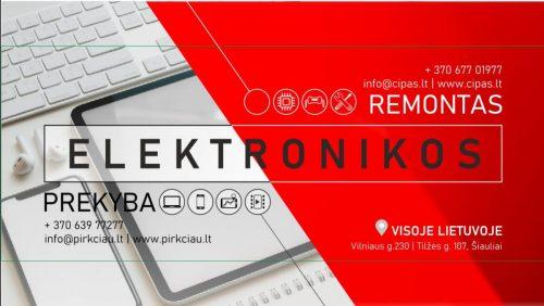 Profesionalus nešiojamų ir stacionarių kompiuterių, telefonų ir plančetinių kompiuterių remontas visoje Lietuvoje