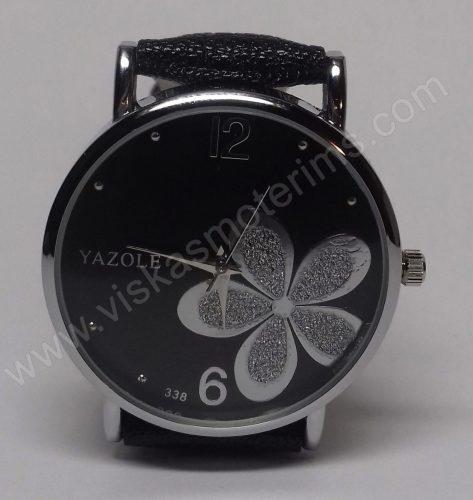 Moteriškas laikrodis Yazole su gėle