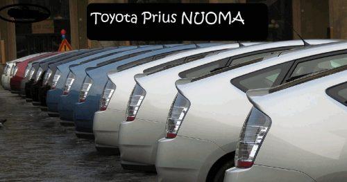 Kurjerio-pavezejo(os) darbas, Toyota prius nuoma