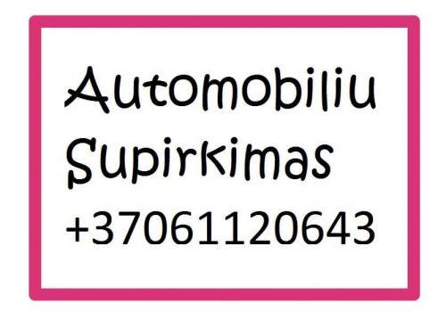 Auto-supirkimas-Vilniuje