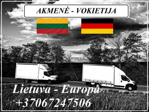 Lietuva – Akmenė – Vokietija – Lietuva