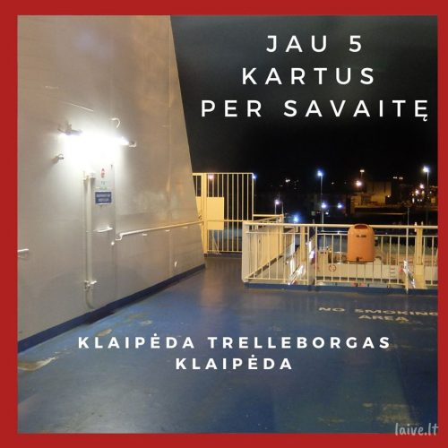 LAIVE.LT Keltai Klaipėda – Trelleborg