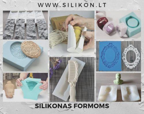 Greito ir lėto stingimo silikonas