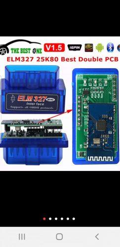 ELM327 OBD2 adapteris 1.5 versija