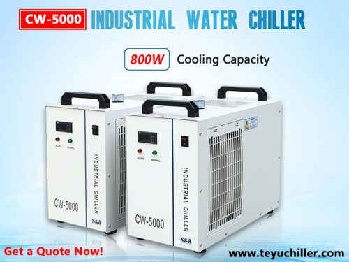 Vandens aušintuvas CW5000 nemetaliniams lazeriniams pjaustytuvams