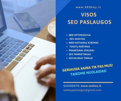 www.SEOkey.lt – SEO paslaugos visoje Lietuvoje  Geriausia kaina tik pas mus