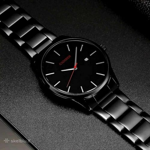 CADISEN solidi juoda klasika firminėje dėžutėje