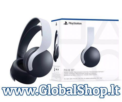 Sony PlayStation 5 belaidės ausinės Pulse 3D