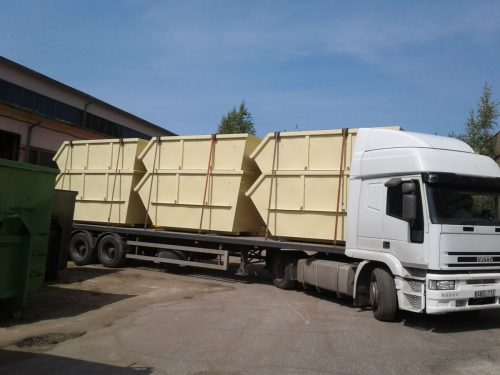 METALINIAI KONTEINERIAI. Statybiniu atlieku konteineriui gamyba.