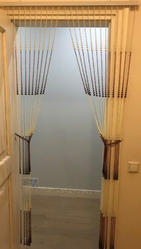 Dekoratyvinės durų užuolaidos
